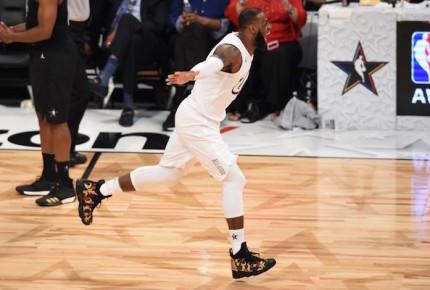 Equipo LeBron más fuerte que el de Curry en NBA All Star Game