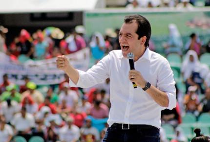PRI Chiapas palomea a Albores Gleason; PVEM lo desconoce