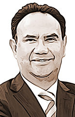 Raúl Contreras, por la mediación para alcanzar la paz