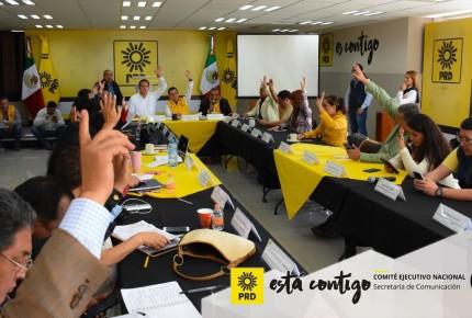 PRD, PAN y MC también cierran alianza en Chiapas
