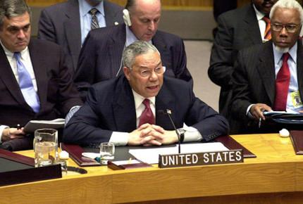 Powell y sus mentiras sobre Irak en la ONU