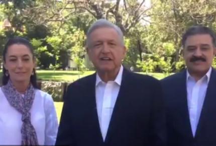 AMLO se reúne con candidatos de Morena a gobernadores