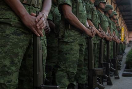 Arriba fuerza militar a Michoacán por incremento de violencia