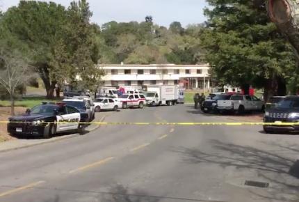 Atacante y tres mujeres mueren en casa de veteranos en California