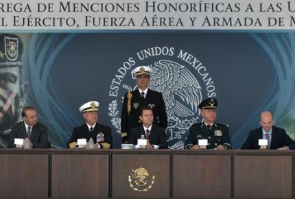 Ni criminales ni represores las Fuerzas Armadas: Sedena y Semar