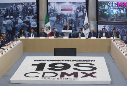 CDMX invirtió 2 mil 620 mdp en reconstrucción tras el 19S