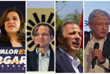 Agenda del banderazo electoral de los presidenciables