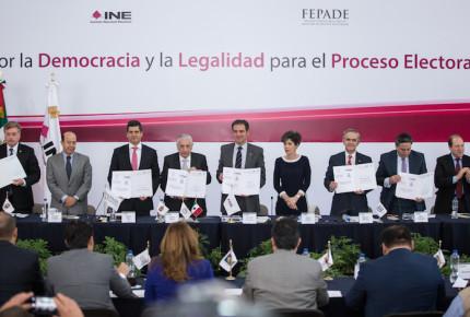 Conago e INE acuerdan dar seguridad y legalidad a elecciones
