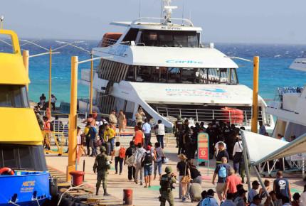 PGR confirma que la explosión en ferry de QRoo fue provocada