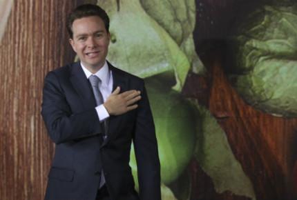 Manuel Velasco, 'pluri' del Verde al Senado