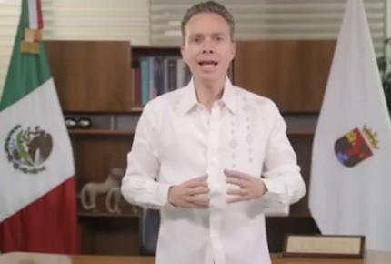 Se baja Manuel Velasco de candidatura 'pluri' al Senado