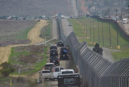 Alguaciles piden a Biden seguir con construcción del muro fronterizo