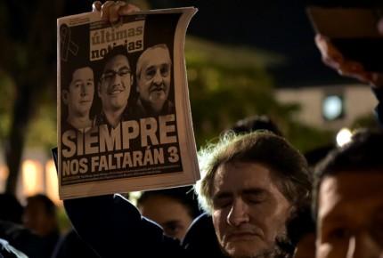 Ecuador busca recuperar cadáveres de periodistas asesinados