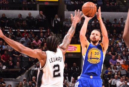 Serie de gala entre Warriors y Spurs inaugura los playoffs de NBA