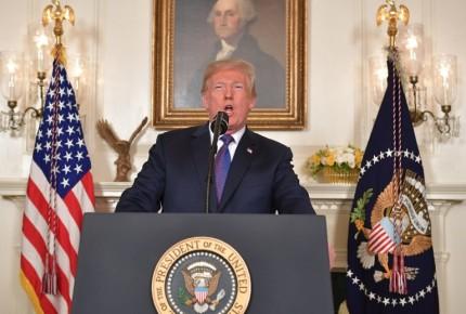 Las 13 frases y discurso íntegro de Trump sobre el bombardeo a Siria