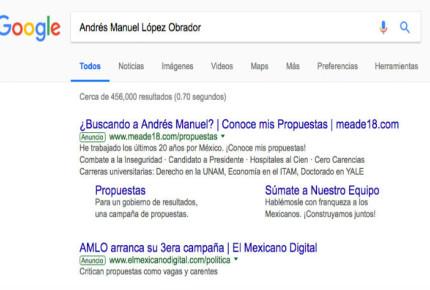 Google, el terreno de Meade en la batalla por la propaganda