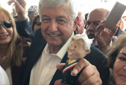Santander ve fallas en encuestas que coronan a AMLO