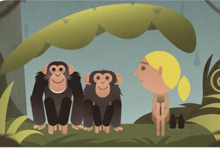 Por el Día de la Tierra Google recuerda a la Dra. Jane Goodall