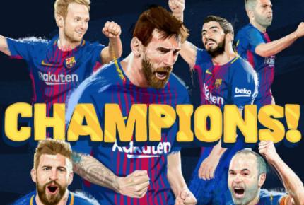 Barcelona alcanza su liga 25 de la mano de Messi