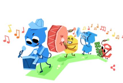 Google celebra Día del Niño con doodle