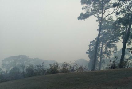 Tras más de 12 horas, incendio en Valle de Bravo es controlado