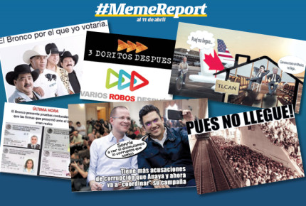 Meme report al 11 de abril