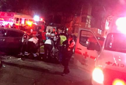 Volcadura de camión deja a 20 heridos en la México-Veracruz