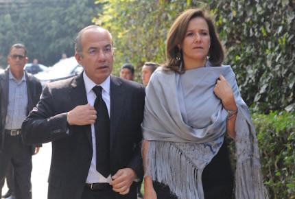 Calderón dona 430 mil pesos a campaña de Zavala