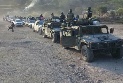 Guerrero: Crimen organizado obliga a casi 100 personas a huír