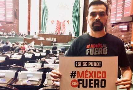 Amenazan de muerte a diputado Álvarez Máynez