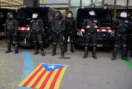 Procesan por sedición al exjefe de la policía catalana