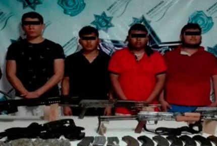 Detienen a presuntos asesinos de policías en Zihuatanejo