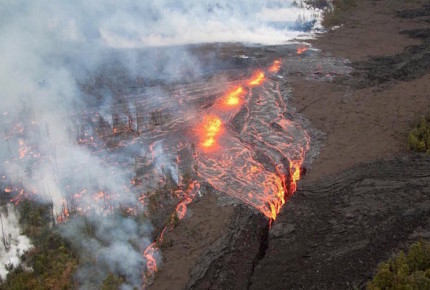 Sismos y erupción volcánica sacuden Hawaii