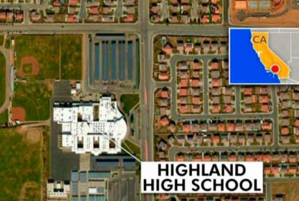 Al menos un herido en tiroteo en escuela de Pamdale