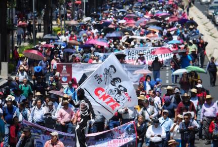 CNTE y otras organizaciones harán manifestaciones en CDMX