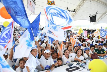 PAN y MC, los partidos con menos afiliaciones ante el INE
