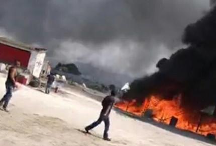 Una explosión y un incendio ensombrecen a Tultepec