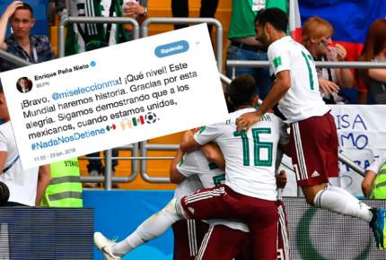 """""""Este Mundial haremos historia"""", afirma Peña y felicita al Tri"""