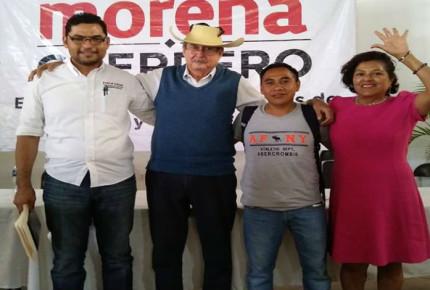 Morena denuncia amenazas de muerte a candidato en Guerrero