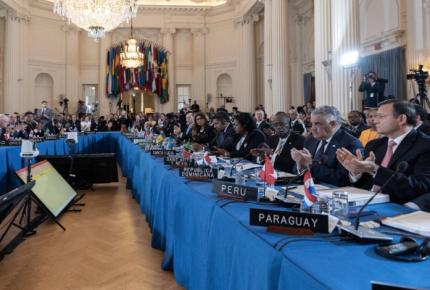 Inicia asamblea de la OEA con Venezuela en la mira