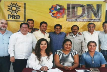 IDN del PRD se deslinda de Anaya; votará por AMLO