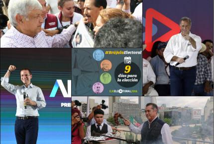 Anaya pide resistir ante amenazas del crimen; 'Reforma', un diario 'fifi': AMLO; el país está en peligro, afirma Meade