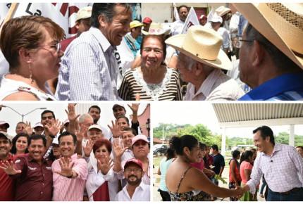 GALERÍA | Cuitláhuac García estampó su sello en campaña