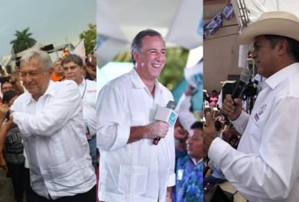 """""""Mi última campaña, la tercera es la vencida"""": AMLO; Meade pide voto """"de corazón""""; Bronco sigue en pie"""