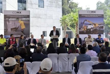 Transición sin tropiezos en CDMX ofrece Amieva