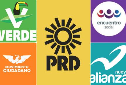 Registro de PES, PRD, MC, Verde y Nueva Alianza en la cuerda floja