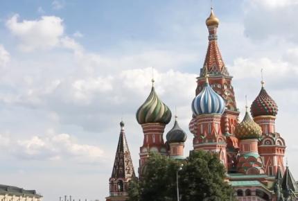 San Basilio, el sitio favorito para las 'selfies' en Moscú