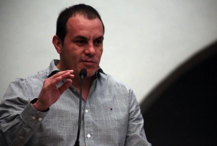 Reprochan a Cuauhtémoc Blanco falta de liderazgo ante Covid-19