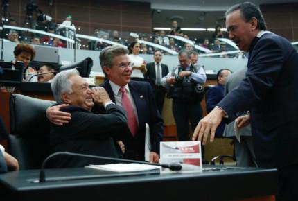 Congreso felicita a López Obrador; bancadas se posicionan