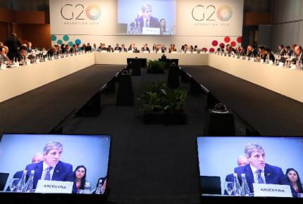 G20 alerta riesgo por tensiones comerciales y llama al diálogo